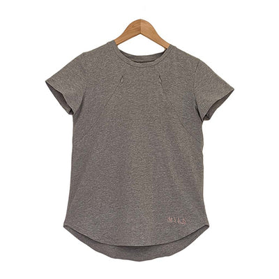 BREASTFEEDING T-SHIRT GREY