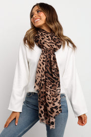 Petal and Pup USA ACCESSORIES Akuna Scarf - Brown One Size