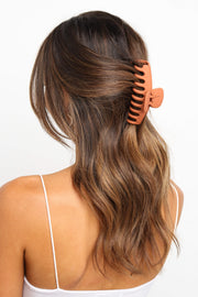 ACCESSORIES ***Gaige Hairclip - Rust