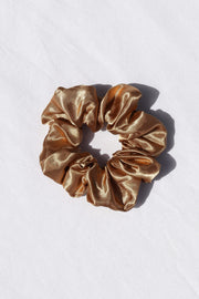 Petal and Pup USA ACCESSORIES Jarboe Scrunchie - Gold One Size