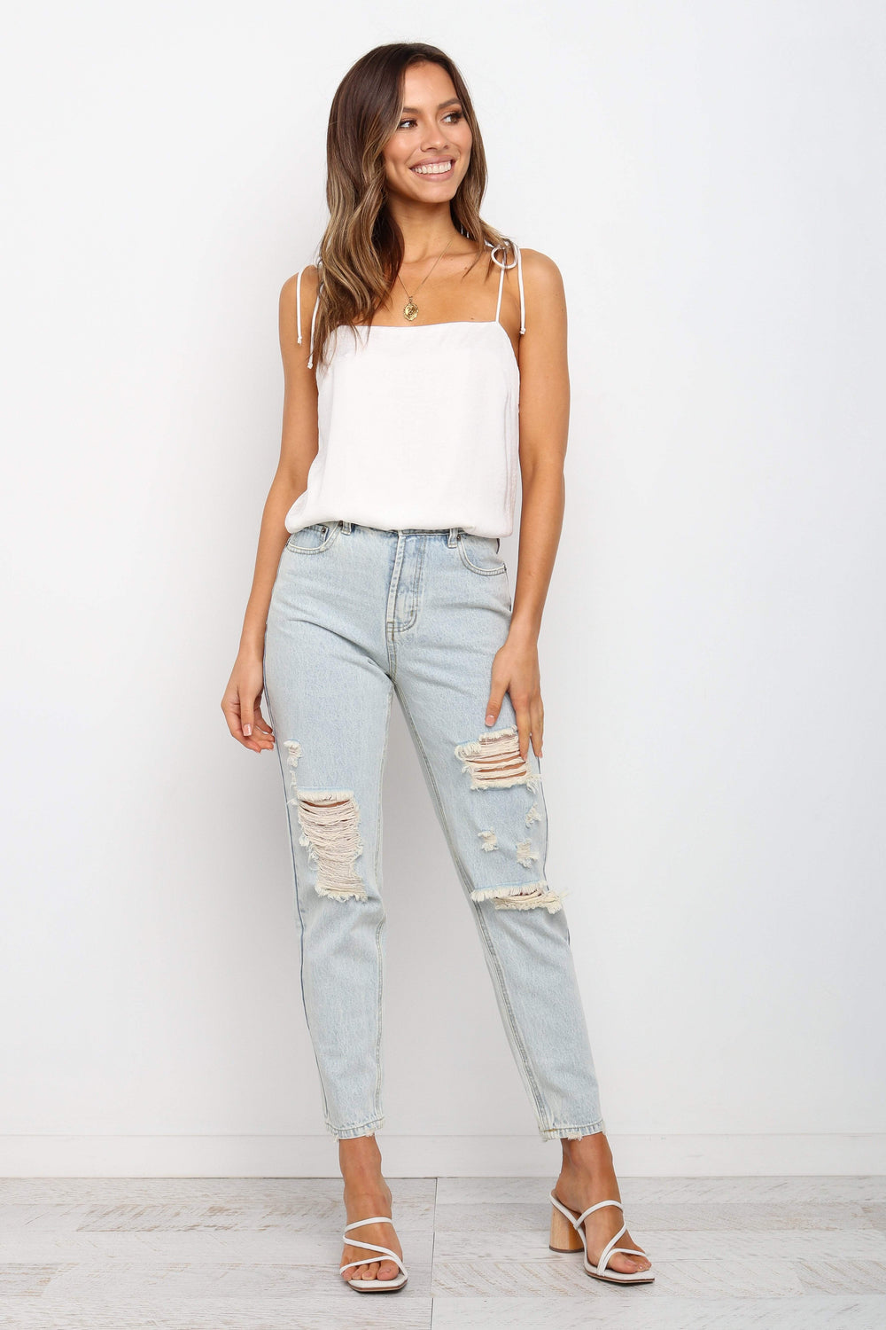 Petal and Pup USA BOTTOMS Bancroft Jeans - Light Wash