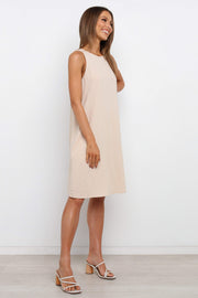 Petal and Pup USA DRESSES Admire Dress - Beige