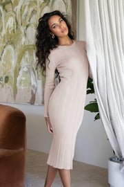 Niam Dress - Beige