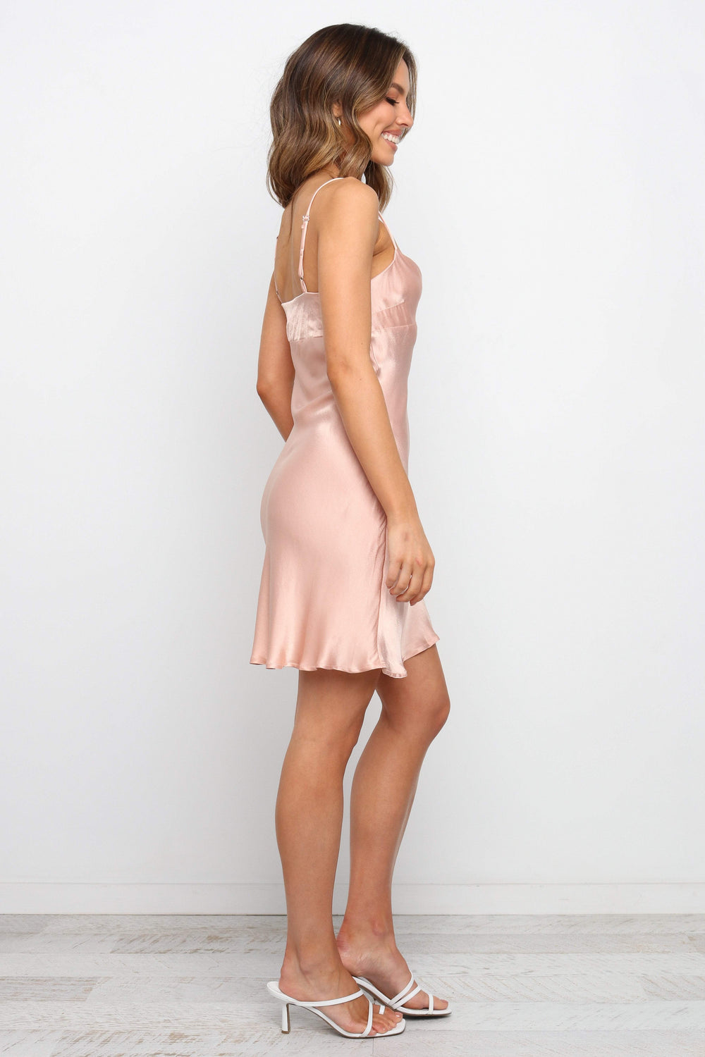 Petal and Pup USA DRESSES Parfeck Dress - Blush
