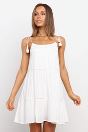 DRESSES ***Patsy Dress - Ivory