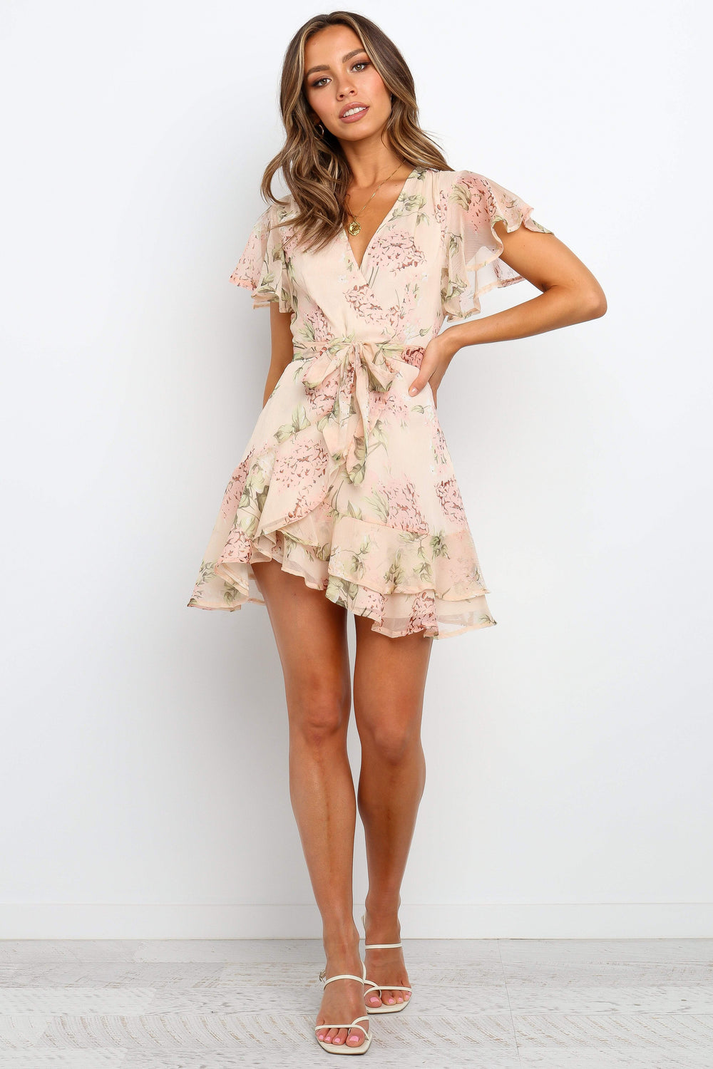 Petal and Pup USA DRESSES Zella Dress - Nude 4