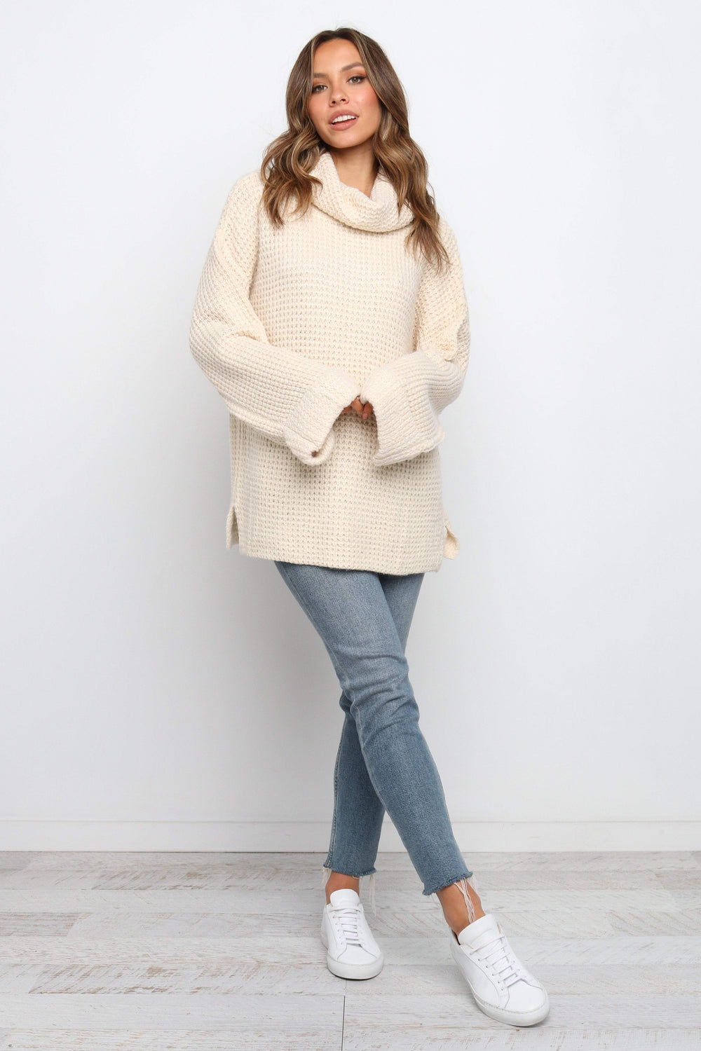 Petal and Pup USA KNITWEAR Josie Knit - Cream