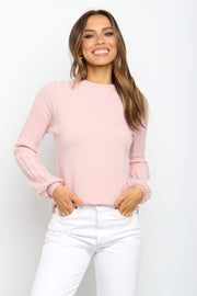 Petal and Pup USA KNITWEAR Lana Knit - Blush 10