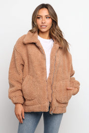 Petal and Pup USA OUTERWEAR Ezion Jacket - Tan