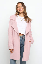 Petal and Pup USA OUTERWEAR Navua Coatigan - Mauve