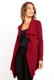 Zimmer Cardigan - Berry