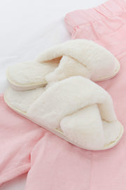 Petal and Pup USA SHOES Arctic Slipper - Cream