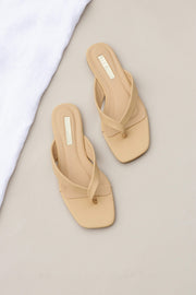 Petal and Pup USA SHOES Azara Slide - Biscuit