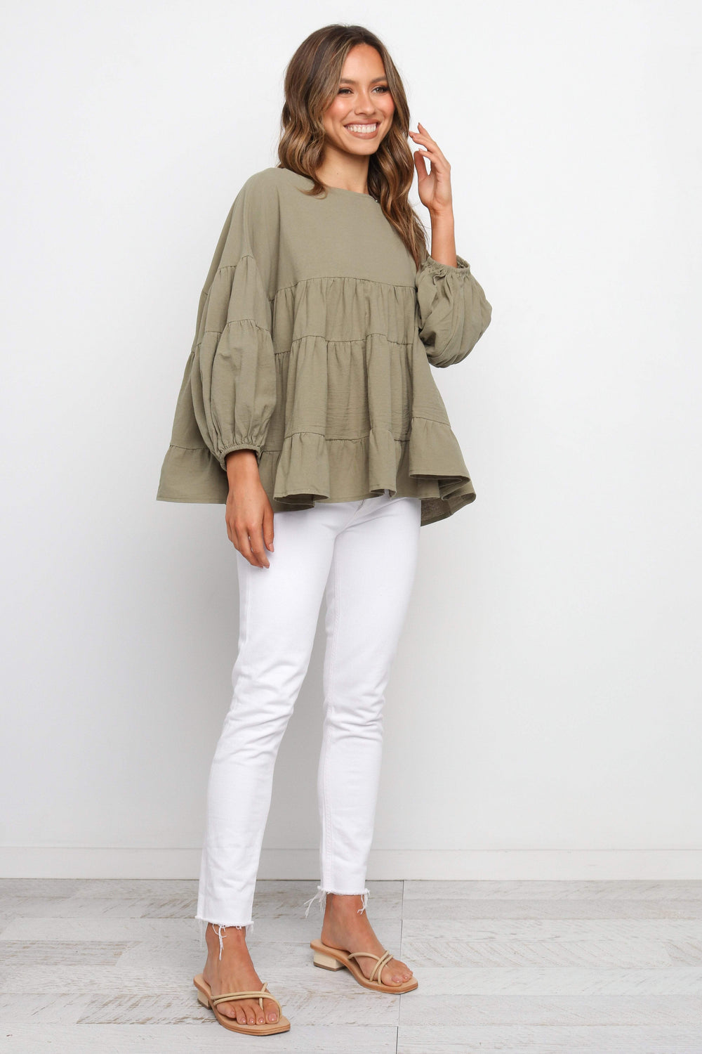 Petal and Pup USA TOPS Gaston Top - Olive