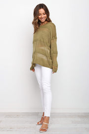 Petal and Pup USA TOPS Hylda Top - Olive