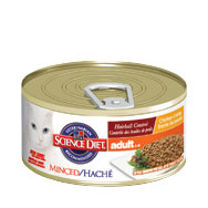 Science Diet Feline Adult Hairball Control Chicken Can/5.5 oz