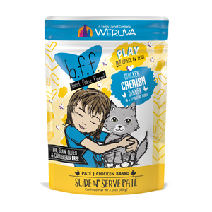 Weruva-BFF Play Pate Chicken Cherish 12/85g Pouch