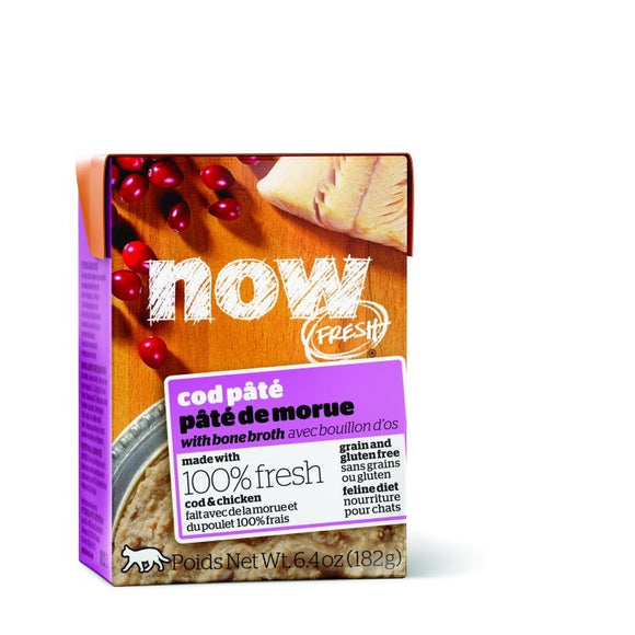 NOW Fresh Cat GF Cod Pate 24/182g