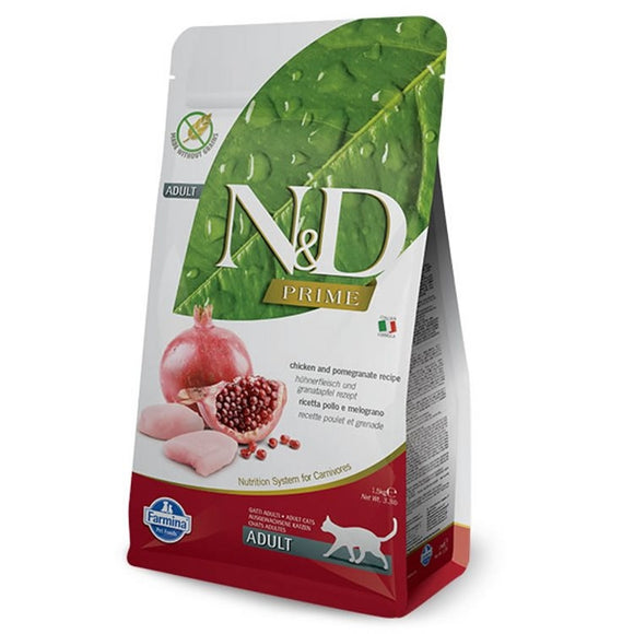 Farmina N&D PRIME Cat Chicken & Pomegranate Adult 5kg