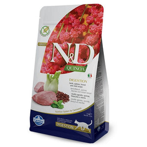 Farmina N&D Cat Quinoa Digestion LAMB 1.5kg