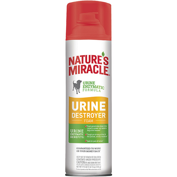 NM Dog Urine Destoyer Foam Aerosol 17.5 oz