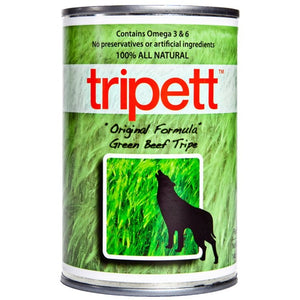 TRIPETT Dog Green Beef Tripe 12 /396g