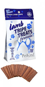 PETKIND Grain Free Lamb Tripe Dog Treats 170g