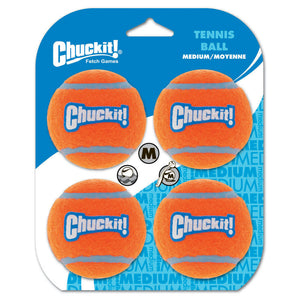 Chuckit! Tennis Balls Medium 4PK | Float