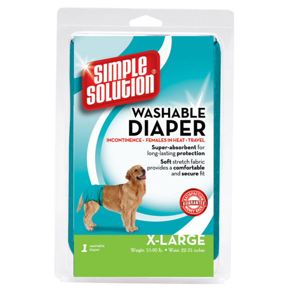 Simple Solution Washable Female Diaper XLarge