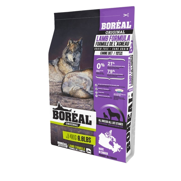 BOREAL ORIGINAL Dog GF Lamb 4kg