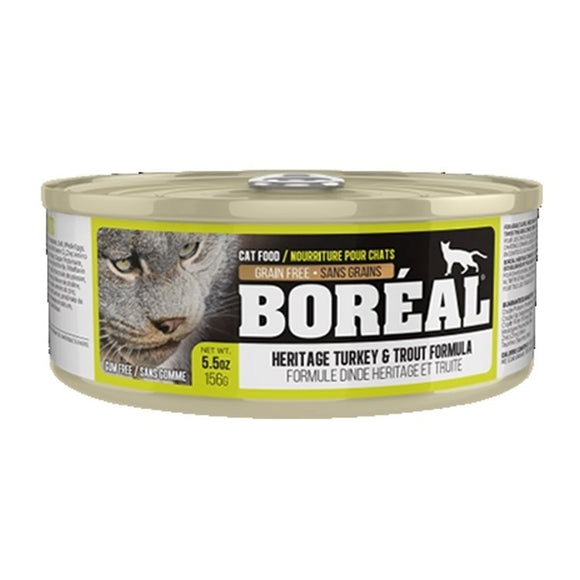 BOREAL Cat Heritage Turkey & Trout 24/156g