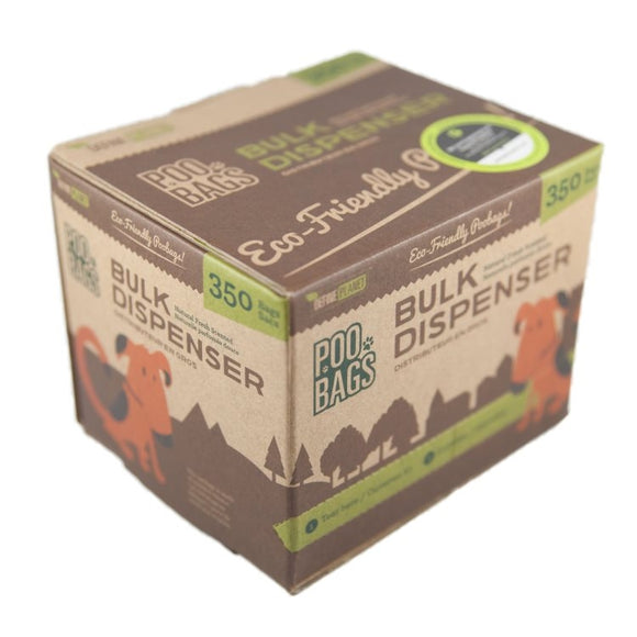DefinePlanet POO BAGS Bulk Pack 1 Roll (350ct)