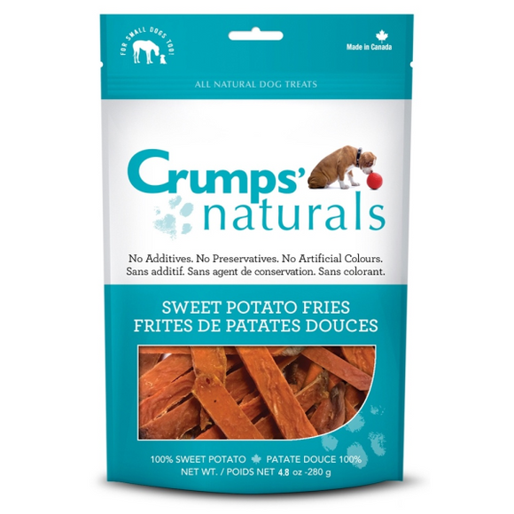 Crumps' Naturals Dog Sweet Potato Fries 4.8 oz