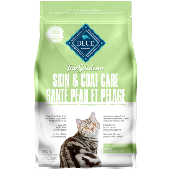 Blue Cat True Solutions Skin & Coat Care Adult Salmon