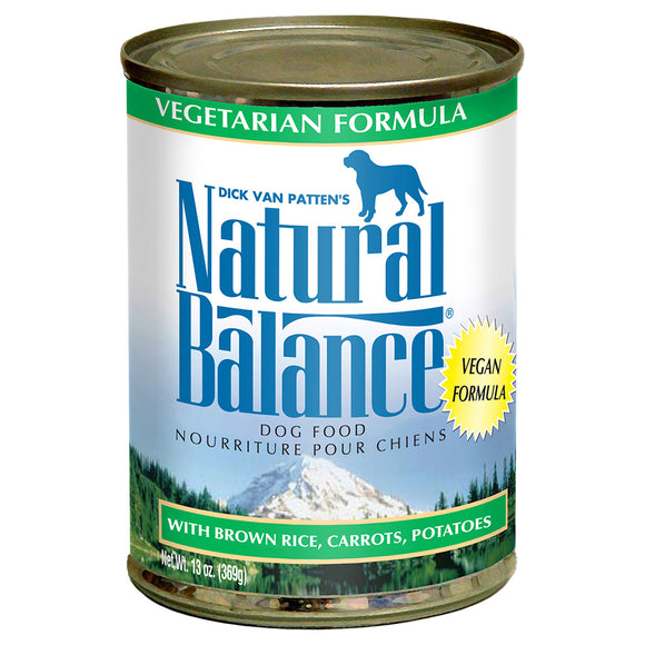 Natural Balance Vegetarian 12/13OZ DOG