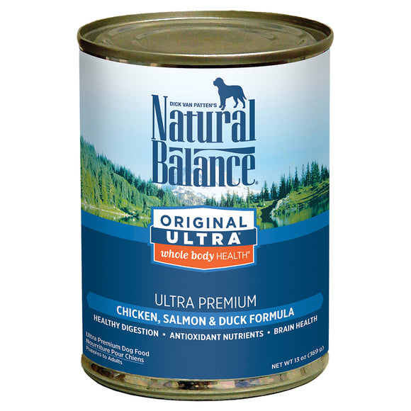 Natural Balance Whole Body Health Chicken, Salmon & Duck 12/13OZ DOG