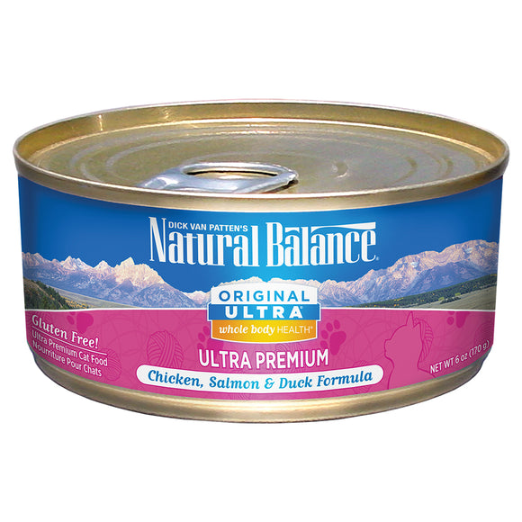 Natural Balance-Whole Body Health Chicken Salmon Duck 6oz | Cat