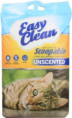 Easy Clean Unscented Clumping Litter