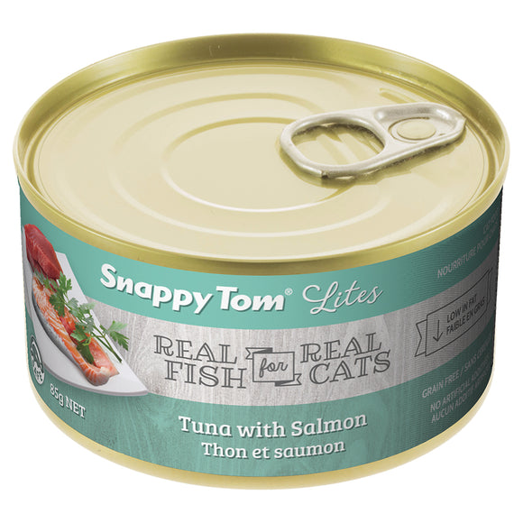 Snappy Tom Tuna with Salmon 24/85GM | Cat