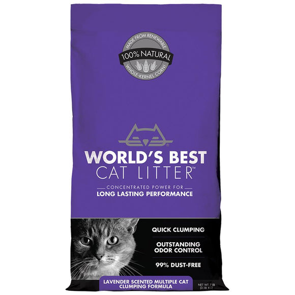 World's Best Multicat Scented Clumping