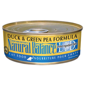 Natural Balance-Duck & Green Pea 5.5oz | Cat