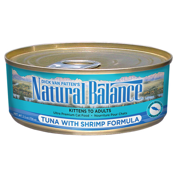 Natural Balance-Tuna with Shrimp 5.5oz | Cat