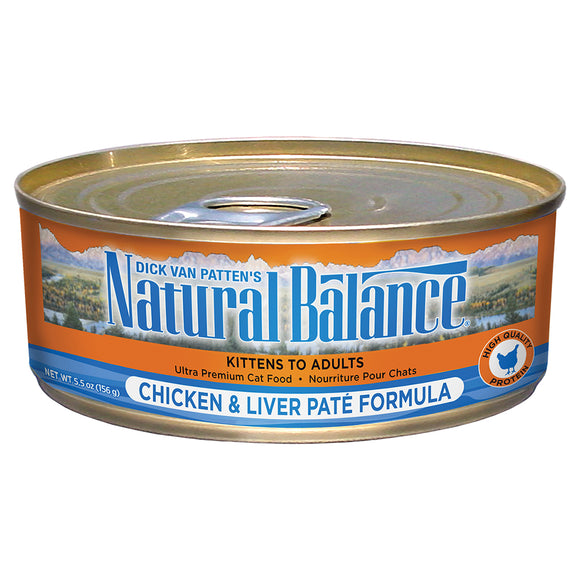 Natural Balance-Chicken & Liver Pate 5.5oz | Cat