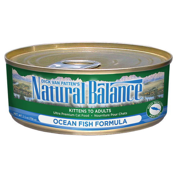 Natural Balance-Ocean Fish 5.5oz | Cat