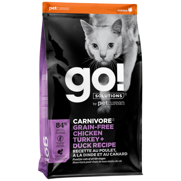 GO! Carnivore Chicken Turkey& Duck |Cat