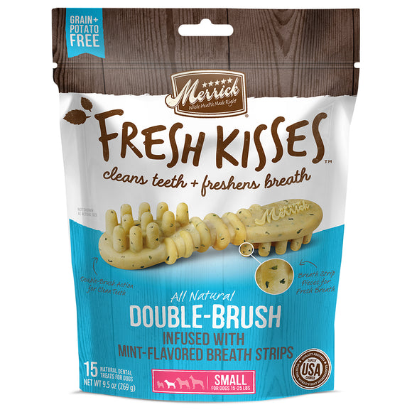 Fresh Kisses Mint Small 15CT Bag 9.5OZ / Medium 10CT Bag 10OZ