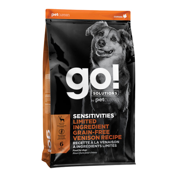 GO! Sensitivities LID GF Venison DOG