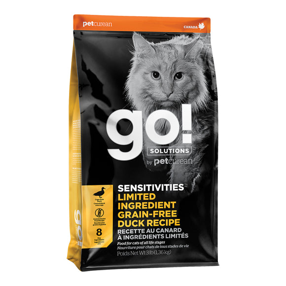 GO! Sensitivities LID GF Duck | Cat
