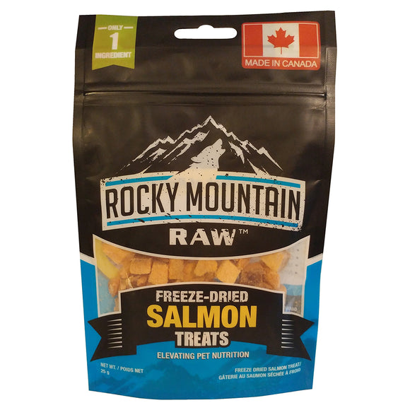 Rocky Mountain Freeze-Dried Salmon Treats 25GM