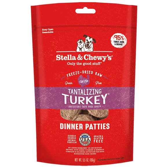 Stella & Chewy's FD Dinner Patties Tantilizing Turkey